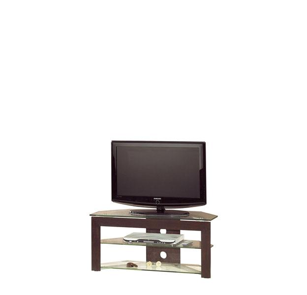 Meuble tv bas en verre id es de d coration et de for Meuble tv verre