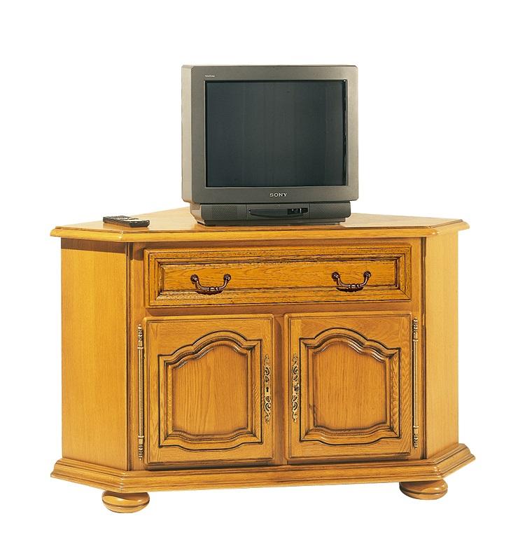 Bas meuble d angle lo c gr aume les meubles du roumois for Meuble bas d angle salon