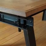 Détail Pied Table Atelier