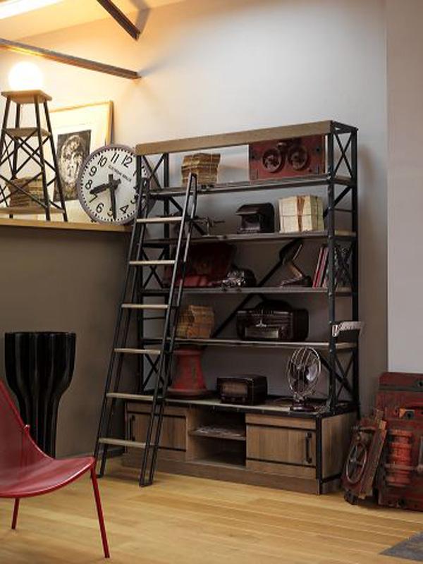 Collection atelier lo c gr aume les meubles du roumois - Meuble style atelier ...