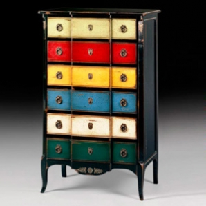 marie antoinette grand chiffonnier 6 tiroirs lo c gr aume les meubles du roumois. Black Bedroom Furniture Sets. Home Design Ideas