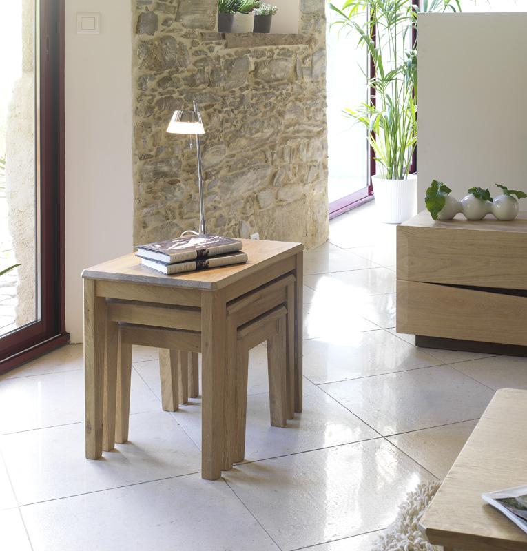 Table gigogne lo c gr aume les meubles du roumois - Petite table gigogne ...