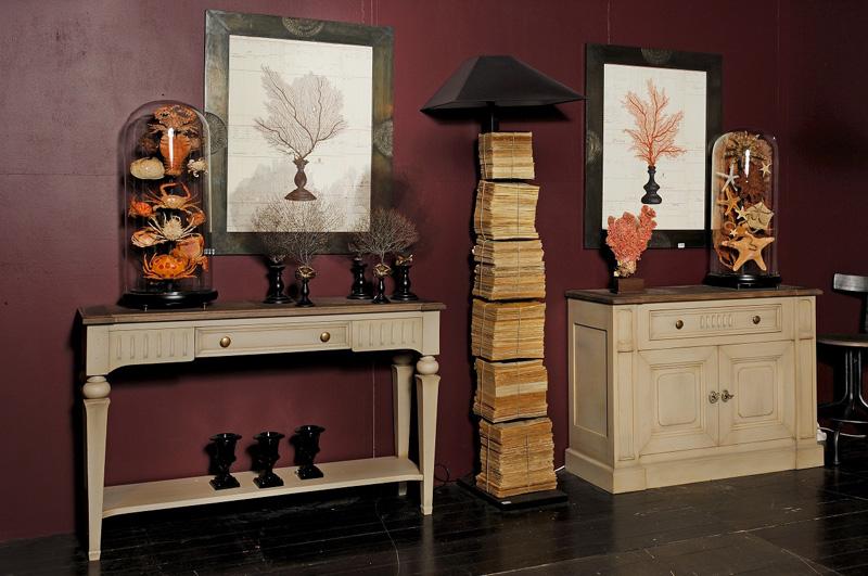 Collection chambord lo c gr aume les meubles du roumois for Meuble console d entree