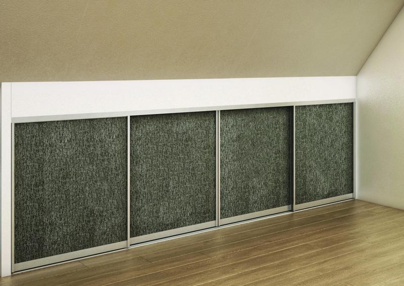Sous pente lo c gr aume les meubles du roumois for Porte coulissante sous pente laterale