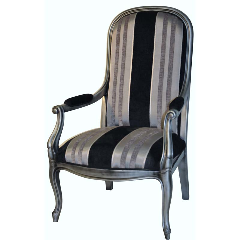 berg re et fauteuil voltaire sculpt lo c gr aume les meubles du roumois. Black Bedroom Furniture Sets. Home Design Ideas