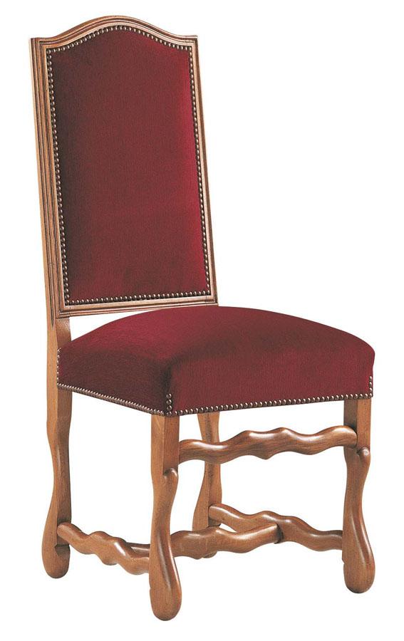 210n chaise louis xiii lo c gr aume les meubles du roumois. Black Bedroom Furniture Sets. Home Design Ideas