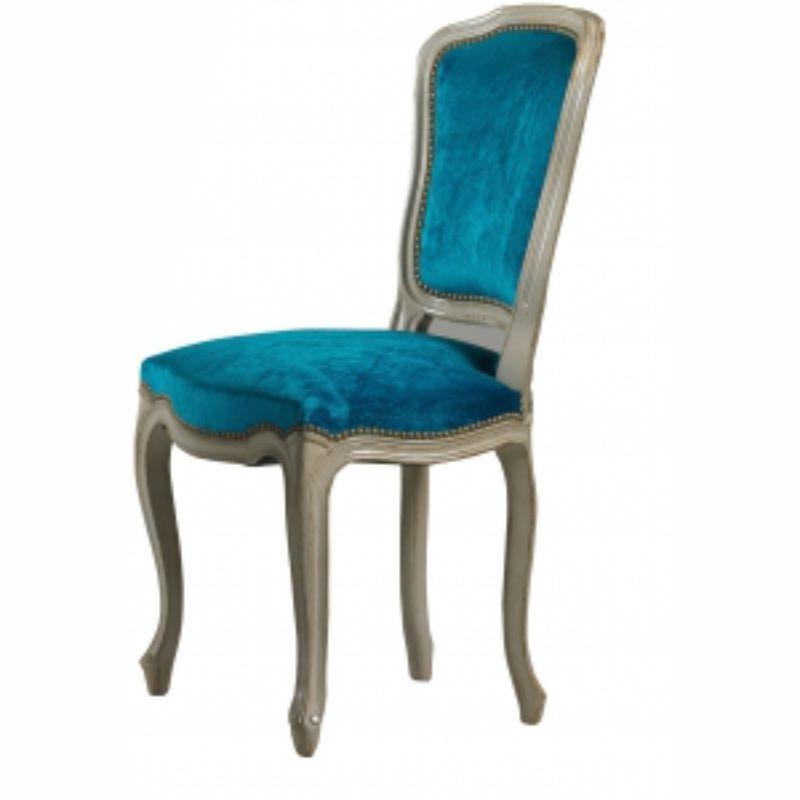 chaise louis xv garnie lo c gr aume les meubles du roumois. Black Bedroom Furniture Sets. Home Design Ideas